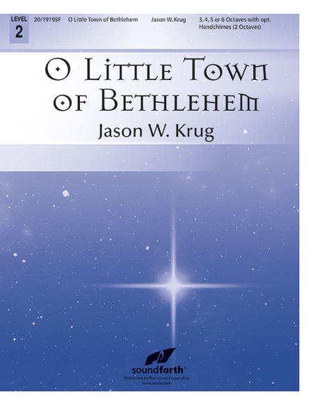 Cover of O Little Town of Bethlehem