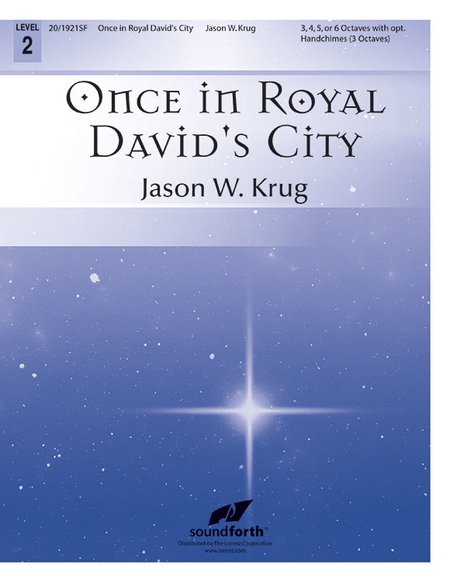Cover of Once in Royal David's City