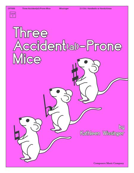 Cover of Three Accidental Prone Mice
