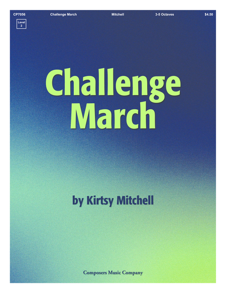Cover of Challenge March