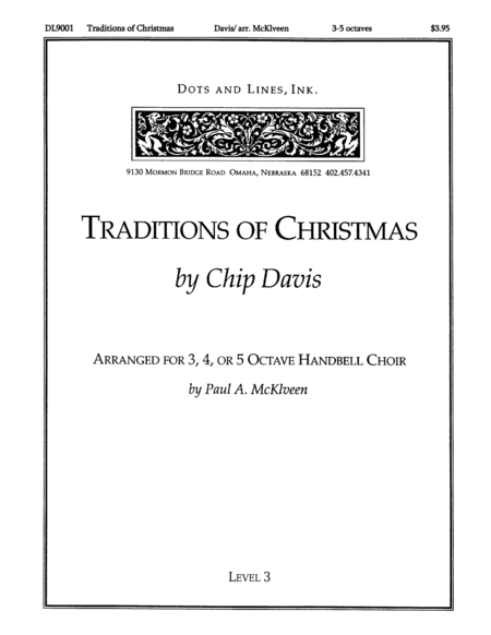 Cover of Traditions of Christmas