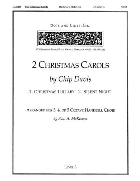 Cover of Two Christmas Carols