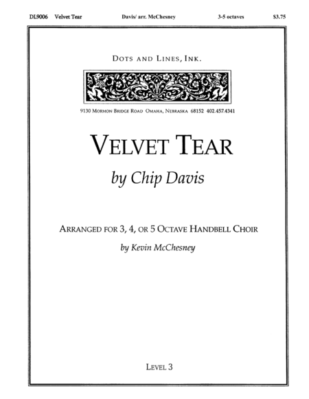 Cover of Velvet Tear