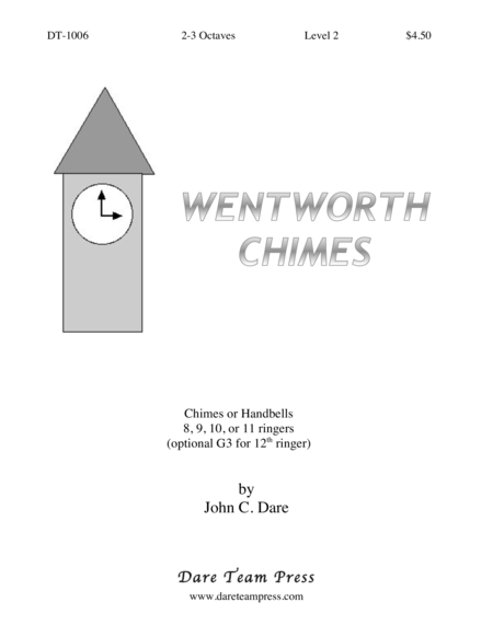 Cover of Wentworth Chimes