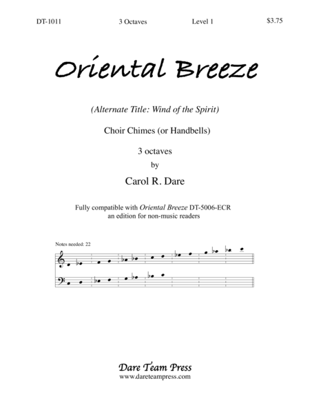 Cover of Oriental Breeze