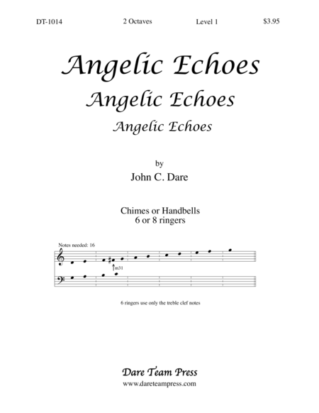 Cover of Angelic Echoes