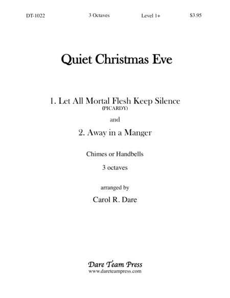 Cover of Quiet Christmas Eve