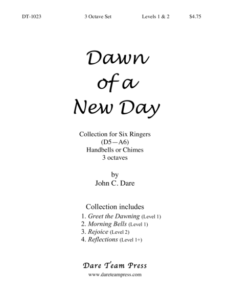 Cover of Dawn of a New Day