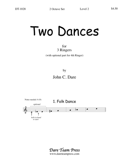 Cover of Two Dances