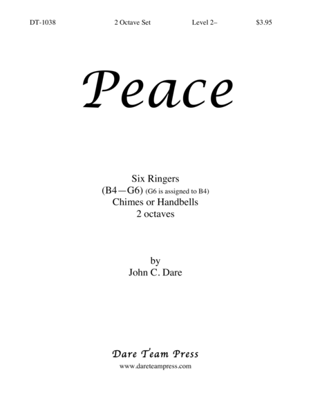 Cover of Peace