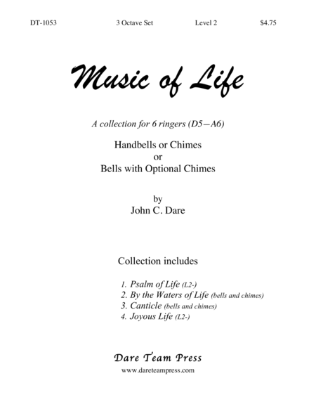 Cover of Music of Life