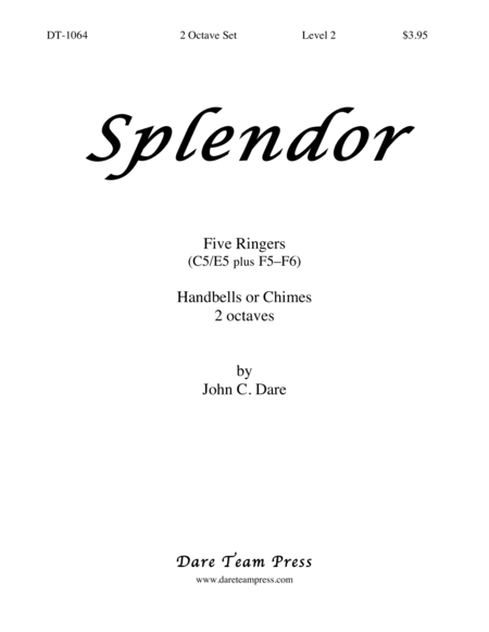 Cover of Splendor