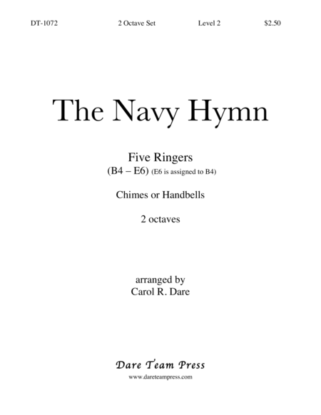 Cover of Navy Hymn