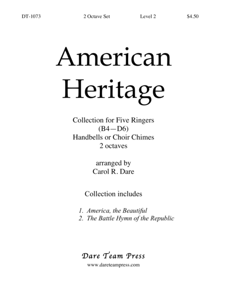 Cover of American Heritage