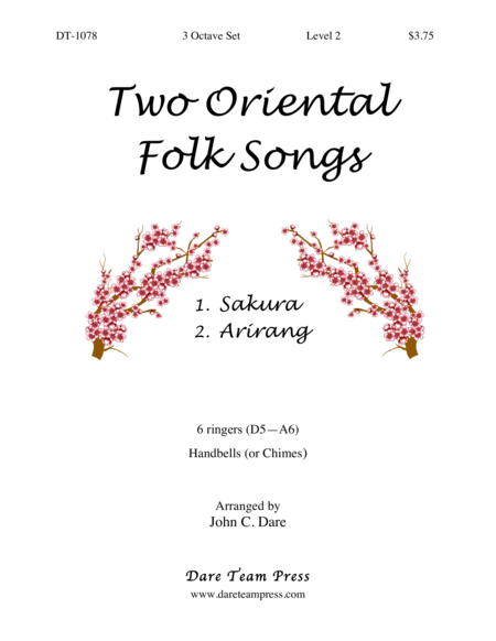 Cover of Two Oriental Folk Songs