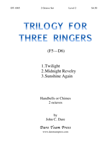 Cover of Trilogy for Three Ringers