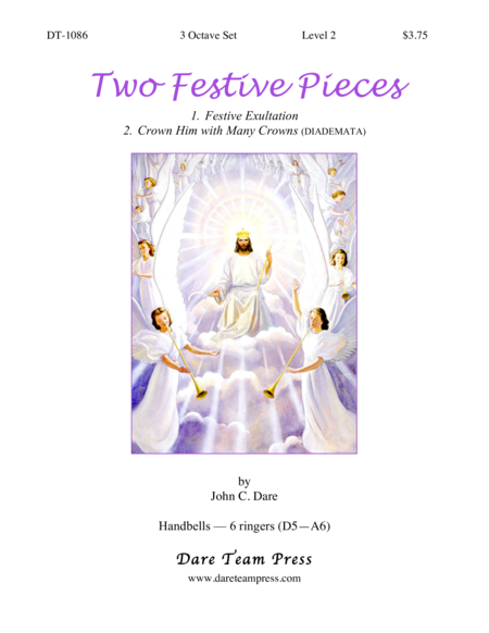 Cover of Two Festive Pieces