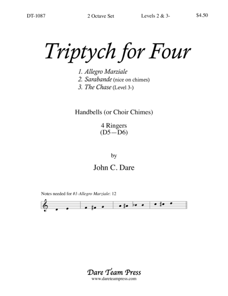 Cover of Triptych for Four