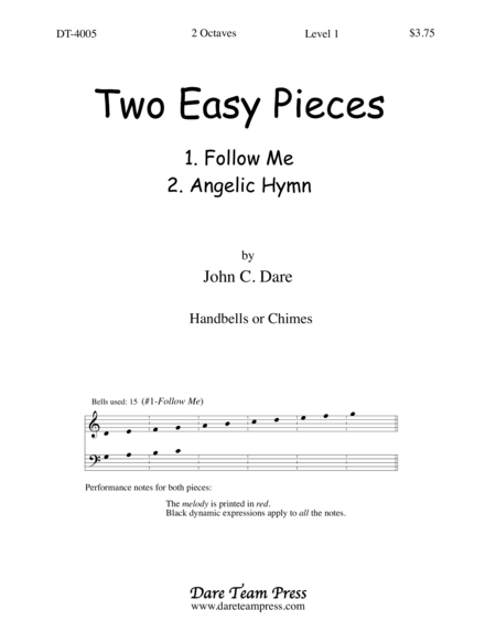 Cover of Two Easy Pieces