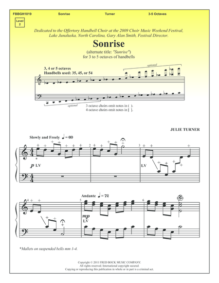Cover of Sonrise