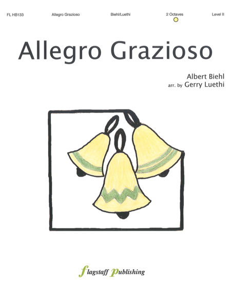 Cover of Allegro Grazioso