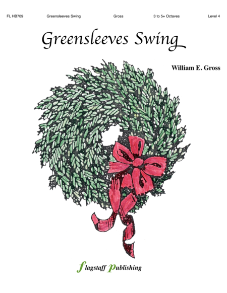 Cover of Greensleeves Swing