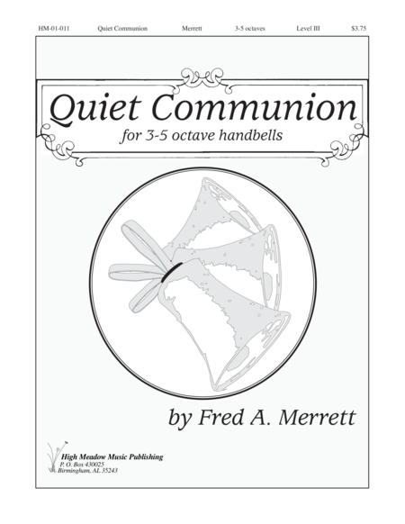 Cover of Quiet Communion