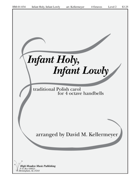 Cover of Infant Holy Infant Lowly