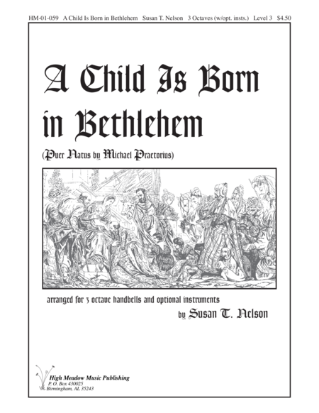 Cover of A Child is Born in Bethlehem