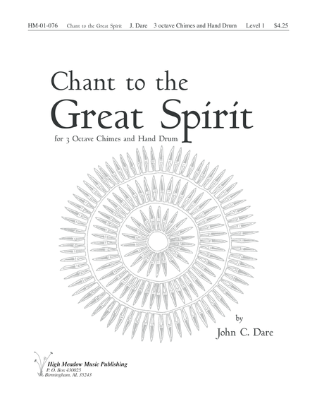 Cover of Chant to the Great Spirit