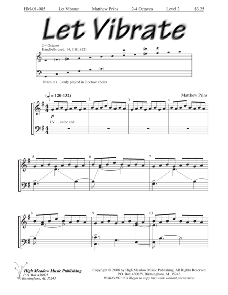 Cover of Let Vibrate