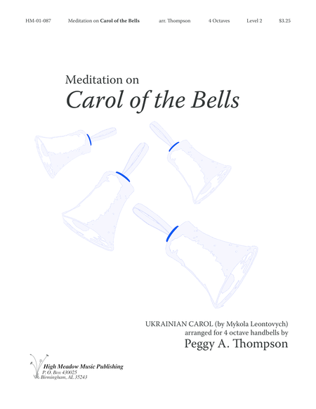 Cover of Meditation on Carol of the Bells
