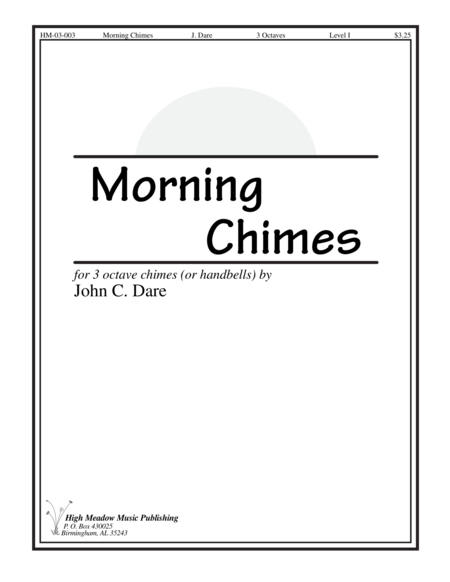 Cover of Morning Chimes
