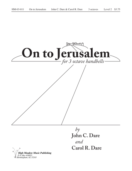 Cover of On to Jerusalem