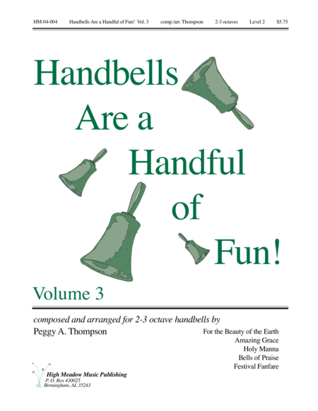 Cover of Handbells Are a Handful of Fun Volume 3