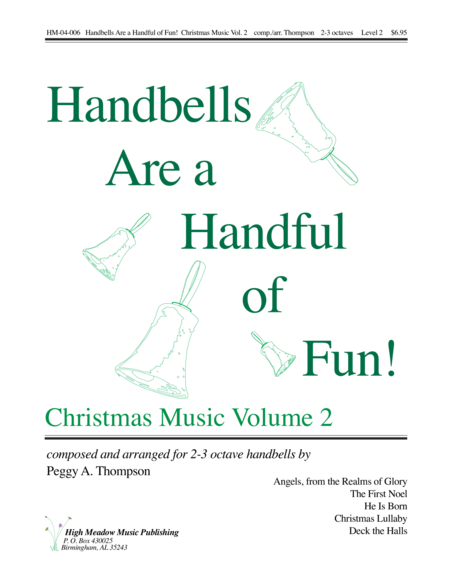 Cover of Handbells Are a Handful of Fun Christmas Music Volume 2