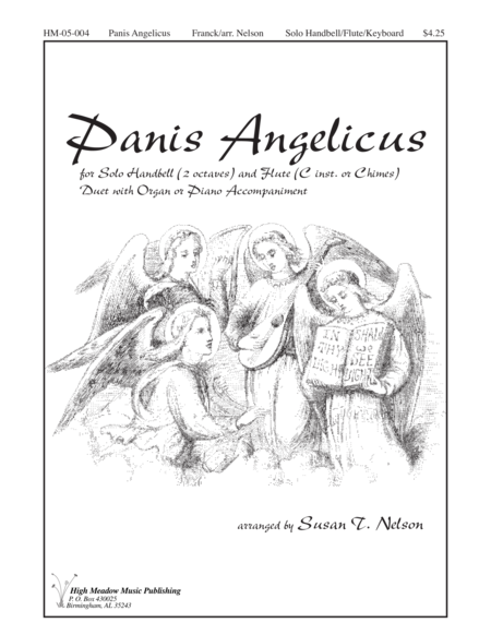 Cover of Panis Angelicus