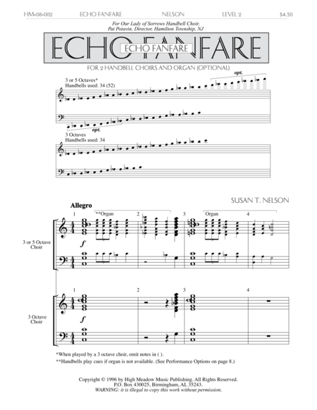 Cover of Echo Fanfare