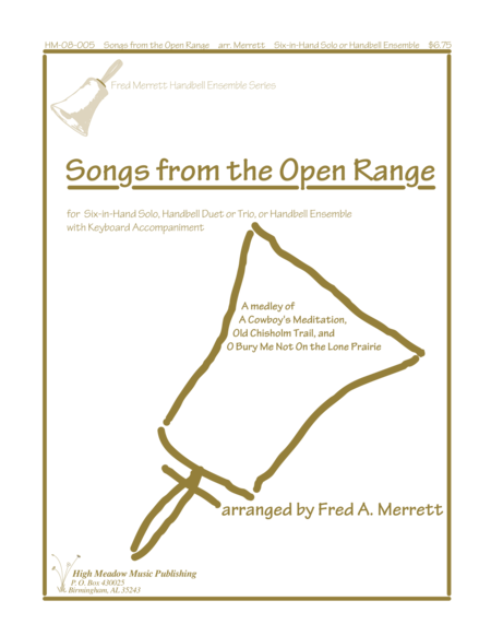 Cover of Songs from the Open Range