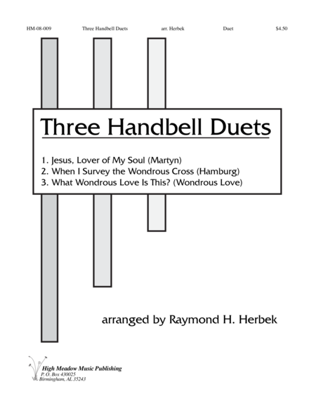 Cover of Three Handbell Duets