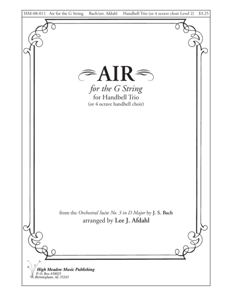 Cover of Air for the G String