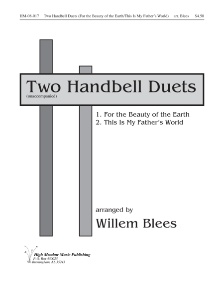 Cover of Two Handbell Duets