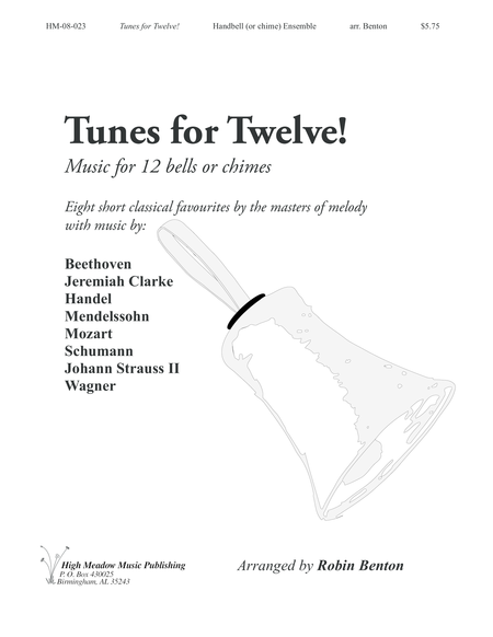 Cover of Tunes for Twelve