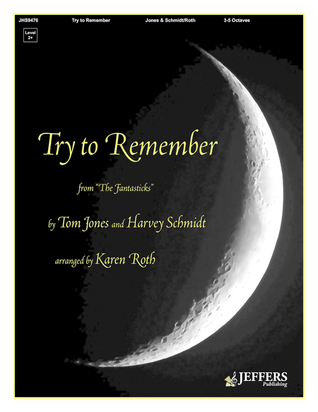 Cover of Try to Remember