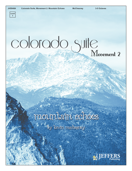 Cover of Colorado Suite Movement 2 Mountain Echoes