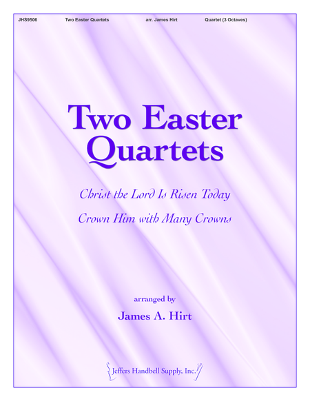 Cover of Two Easter Quartets