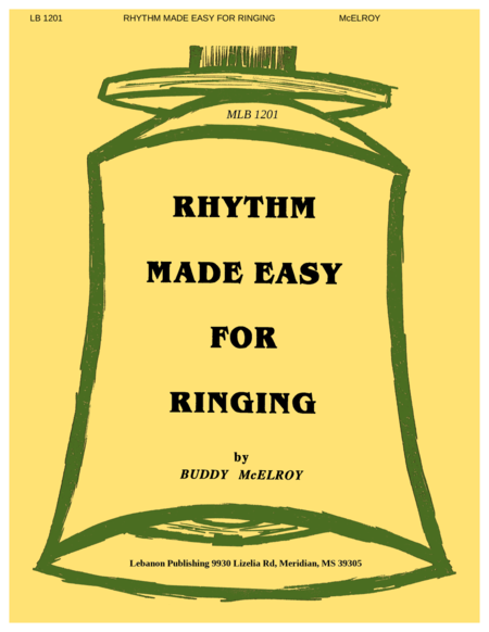 Cover of Rhythm Made Easy for Ringing