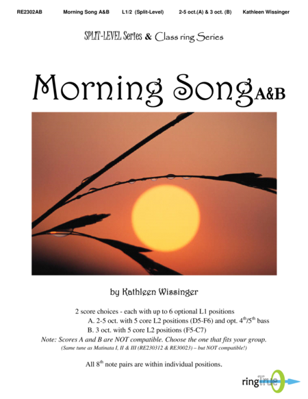 Cover of Morning Song