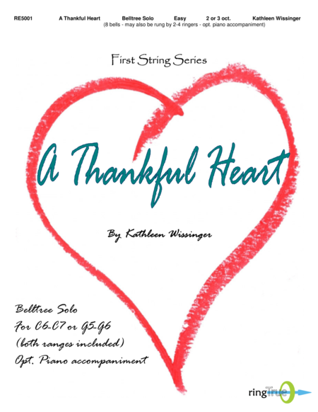 Cover of A Thankful Heart