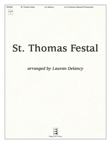 Cover of St. Thomas Festal